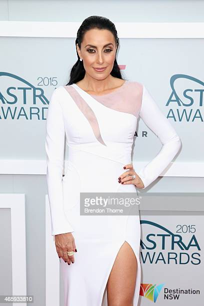 Terry Biviano arrives at the 2015 ASTRA Awards at the Star on March 12 2015 in Sydney Australia