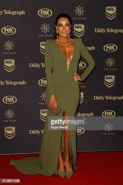 Terry Biviano arrives at the 2016 Dally M Awards at Star City on September 28 2016 in Sydney Australia