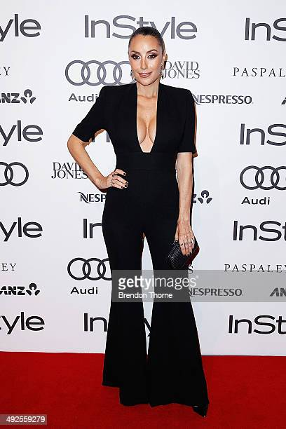 Terry Biviano arrives at the Instyle and Audi 'Women of Style' Awards on May 21 2014 in Sydney Australia