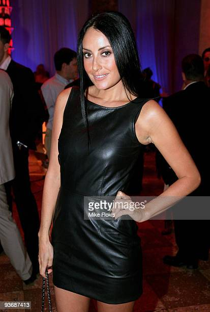 Terry Biviano arrives for the Peroni Young Designer Awards at the MCA on December 3 2009 in Sydney Australia