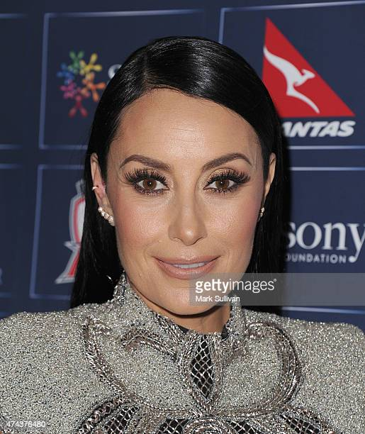 Terry Biviano at a tribute dinner hosted by Anthony Minichiello for the Sony Foundation at The Ivy on May 22 2015 in Sydney Australia