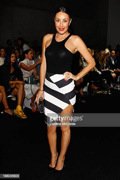 Terry Biviano attends the By Johnny show during MercedesBenz Fashion Week Australia Spring/Summer 2013/14 at Carriageworks on April 8 2013 in Sydney...