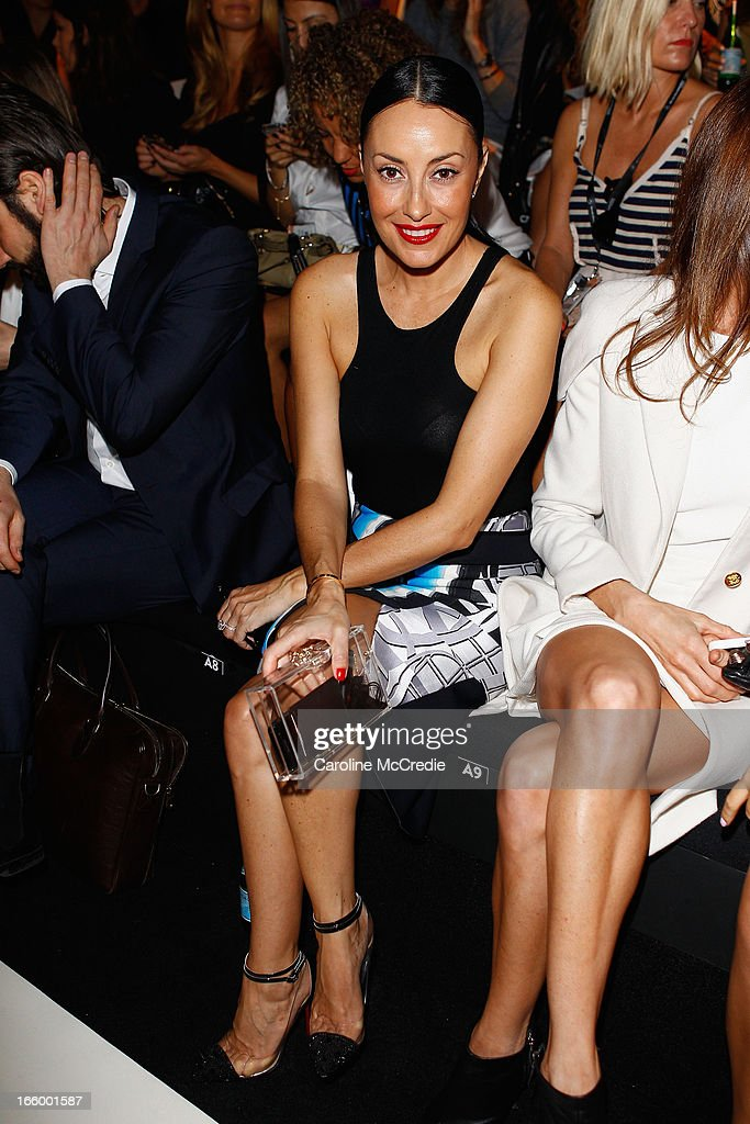 <a gi-track='captionPersonalityLinkClicked' href=/galleries/search?phrase=Terry+Biviano&family=editorial&specificpeople=209289 ng-click='$event.stopPropagation()'>Terry Biviano</a> attends the Camilla and Marc show during Mercedes-Benz Fashion Week Australia Spring/Summer 2013/14 at Carriageworks on April 8, 2013 in Sydney, Australia.