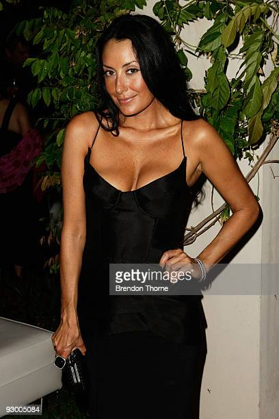 Terry Biviano attends the Cartier Trinity Collection Launch at Altona on November 12 2009 in Sydney Australia