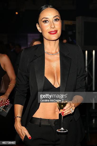 Terry Biviano poses after the David Jones Autumn/Winter 2015 Collection Launch at David Jones Elizabeth Street Store on February 4 2015 in Sydney...