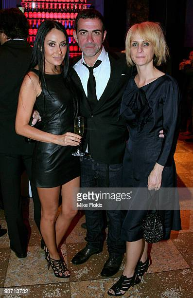 Terry BivianoFashion Designer Antonio Berardi and Editor Allison Veness arrives for the Peroni Young Designer Awards at the MCA on December 3 2009 in...