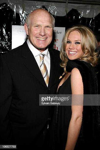 Terry Bradshaw and daughter Rachel Bradshaw during 'Failure To Launch' New York Premiere Red Carpet Arrivals at Clearview Chelsea West Theatre in New...