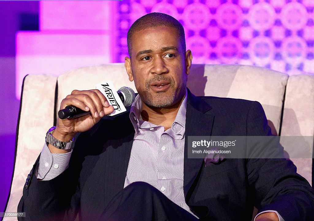 Terry City, VP West Coast BuzzFeed speaks during the 'Branded Entertainment All-Stars' panel at Variety Presents