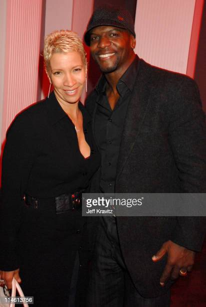 Terry Crews and Rebecca Crews during 'I Think I Love My Wife' Los Angeles Premiere After Party in Los Angeles California United States