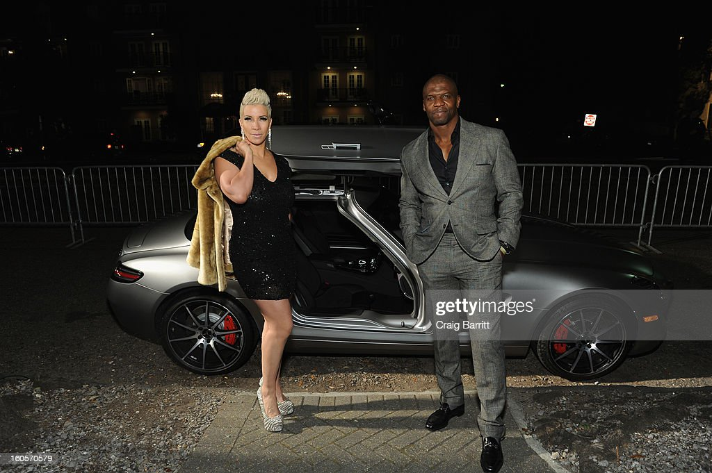 <a gi-track='captionPersonalityLinkClicked' href=/galleries/search?phrase=Terry+Crews&family=editorial&specificpeople=569932 ng-click='$event.stopPropagation()'>Terry Crews</a> and Rebecca King-Crews attend Mercedes-Benz/GQParty at Elms Mansion on February 2, 2013 in New Orleans, Louisiana.