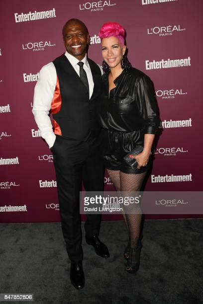 Terry Crews and Rebecca KingCrews attend the Entertainment Weekly's 2017 PreEmmy Party at the Sunset Tower Hotel on September 15 2017 in West...