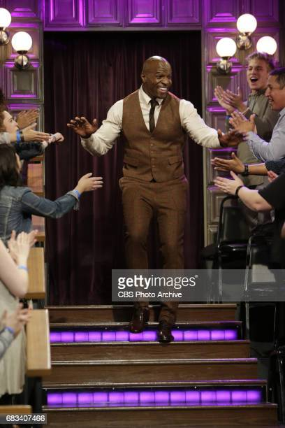 Terry Crews arrives to 'The Late Late Show with James Corden' Thursday May 4 2017 On The CBS Television Network