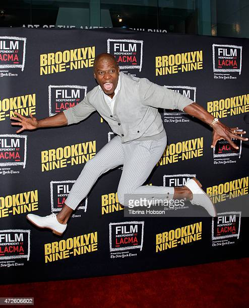Terry Crews attends Film Independent's an evening with 'Brooklyn NineNine' at LACMA on May 7 2015 in Los Angeles California