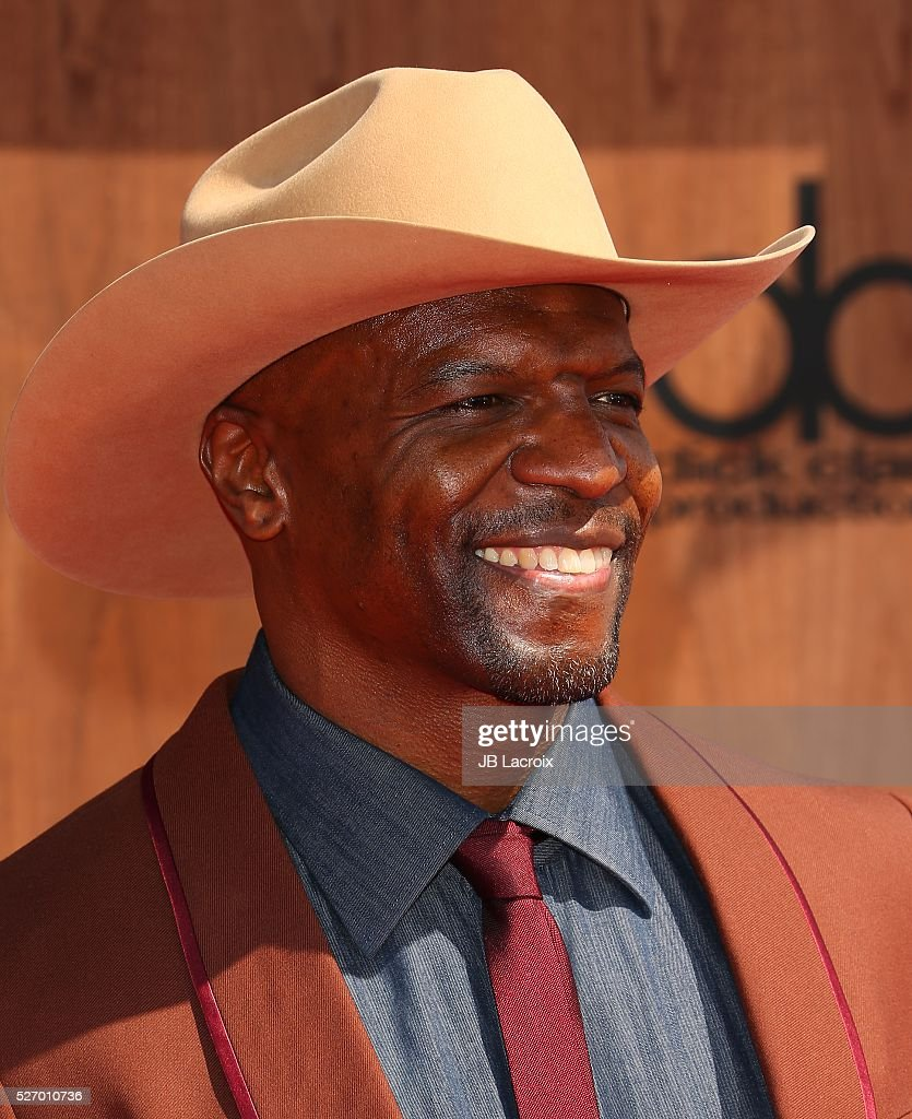 <a gi-track='captionPersonalityLinkClicked' href=/galleries/search?phrase=Terry+Crews&family=editorial&specificpeople=569932 ng-click='$event.stopPropagation()'>Terry Crews</a> attends the 2016 American Country Countdown Awards at The Forum on May 1, 2016 in Inglewood, California.