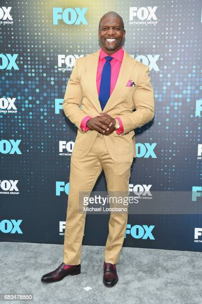Terry Crews attends the 2017 FOX Upfront at Wollman Rink Central Park on May 15 2017 in New York City