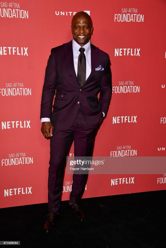 Terry Crews attends the SAG-AFTRA Foundation Patron of the Artists Awards 2017 at the Wallis Annenberg Center for the Performing Arts on November 9, 2017 in Beverly Hills, California.