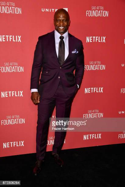 Terry Crews attends the SAGAFTRA Foundation Patron of the Artists Awards 2017 at the Wallis Annenberg Center for the Performing Arts on November 9...