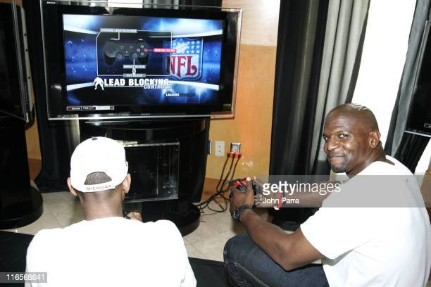 Terry Crews during Super Bowl XLI PlayStation Oasis Day 1 at Raleigh Hotel in Miami Beach Florida