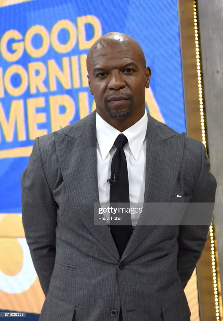 AMERICA - Terry Crews is a guest on 'Good Morning America,' Wednesday, November 15, 2017, airing on the ABC Television Network. TERRY