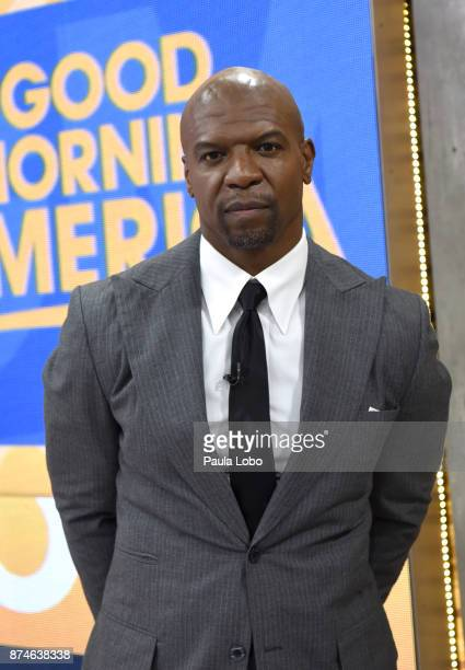 AMERICA Terry Crews is a guest on 'Good Morning America' Wednesday November 15 airing on the ABC Television Network TERRY