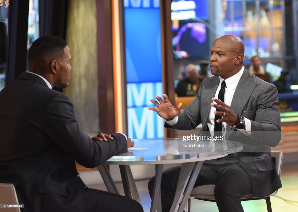 AMERICA - Terry Crews is a guest on 'Good Morning America,' Wednesday, November 15, 2017, airing on the ABC Television Network. MICHAEL