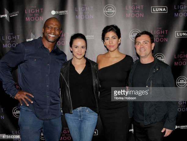 Terry Crews Melissa Fumero Stephanie Beatriz and Joe Lo Truglio attend 'The Light Of The Moon' Los Angeles premiere at Laemmle Monica Film Center on...