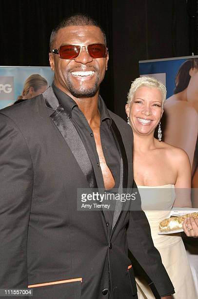Terry Crews wearing ic Berlin sunglasses with wife Rebecca Crews