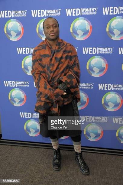 Terry Doe attends 2017 Women's Entrepreneurship Day at The United Nations on November 17 2017 in New York City