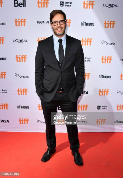Terry Dougas attends the 'Unicorn Store' premiere during the 2017 Toronto International Film Festival at Ryerson Theatre on September 11 2017 in...