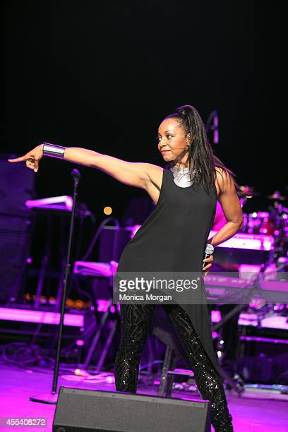 Terry Ellis of En Vogue performs at Chene Park on August 31 2014 in Detroit Michigan