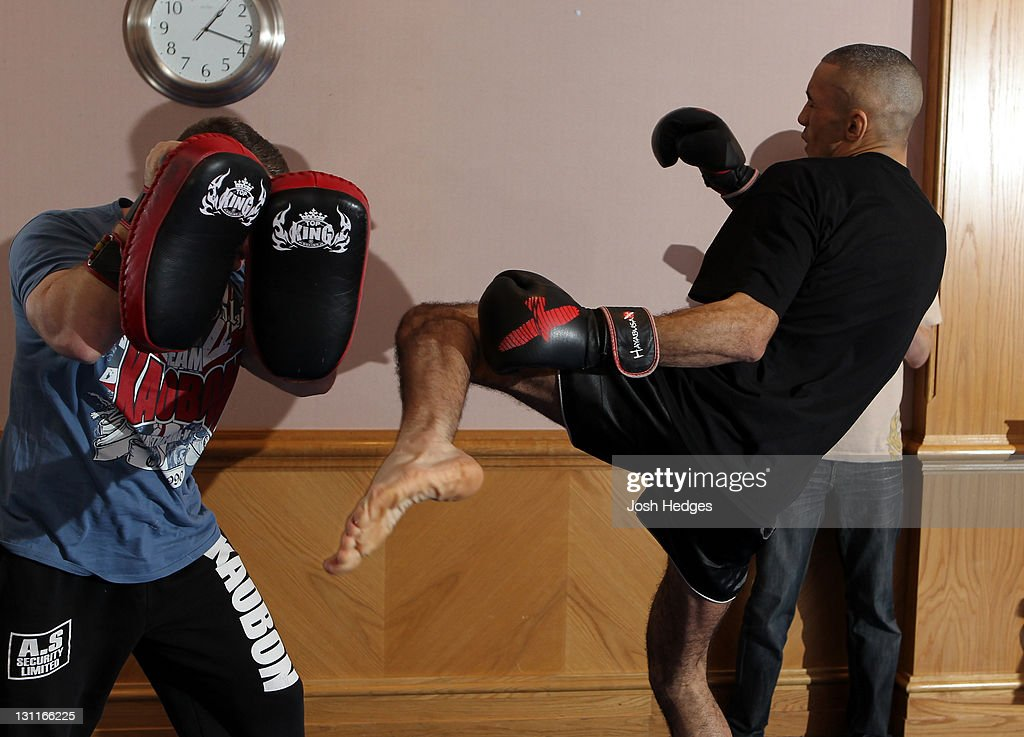 UFC 138: Open Workouts
