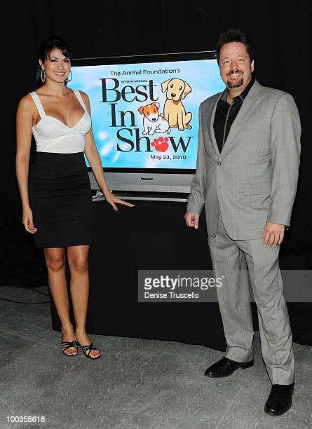Terry Fator and Taylor Makakoa attend the 'Best In Show' annual fundraiser benefiting the Las Vegas Leid Animal Foundation at the Orleans Hotel and...