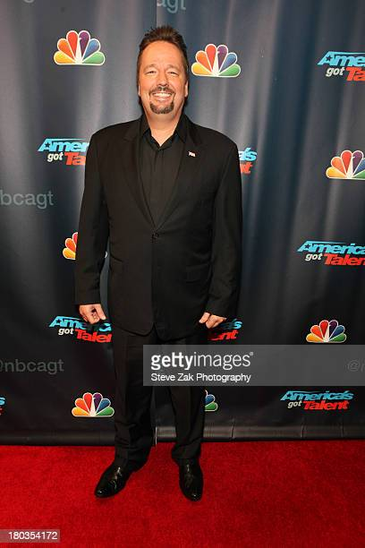 Terry Fator attends 'America's Got Talent' Season 8 Red Carpet Event at Radio City Music Hall on September 11 2013 in New York City