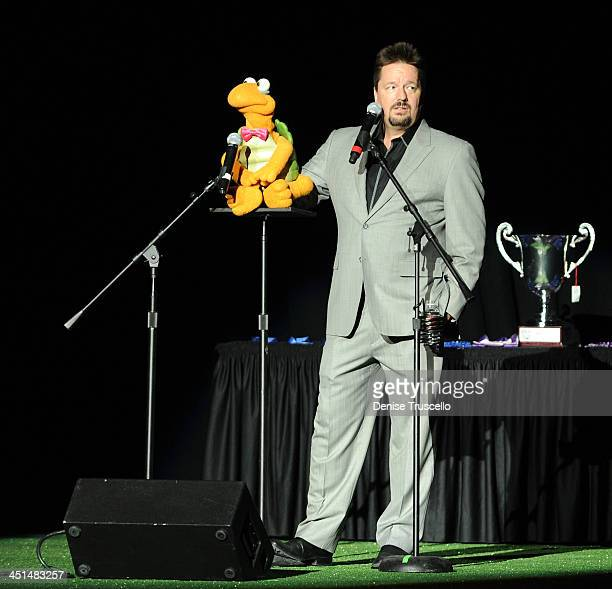 Terry Fator performs at the ''Best In Show'' annual fundraiser benefiting the Las Vegas Leid Animal Foundation at the Orleans Hotel and Casino on May...