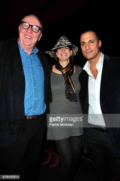 Terry George guest and Nigel Barker attend American Red Cross Concern Worldwide and The Edeyo Foundation Fundraiser at 1 OAK on January 21 2010 in...