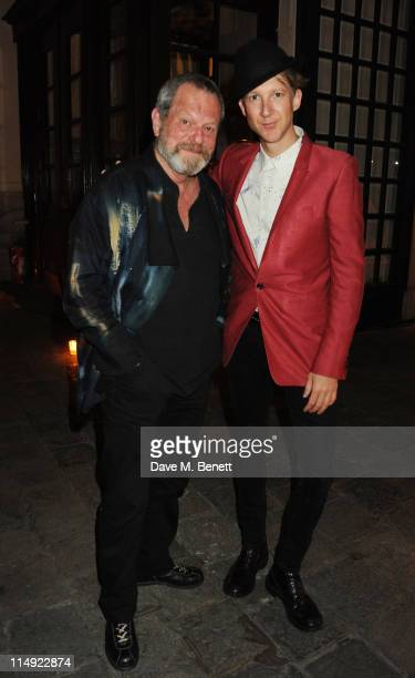 MANDATORY CREDIT PHOTO BY DAVE M BENETT/GETTY IMAGES REQUIRED Terry Gilliam and Jefferson Hack attend the Istancool Gala Dinner at the Istancool...