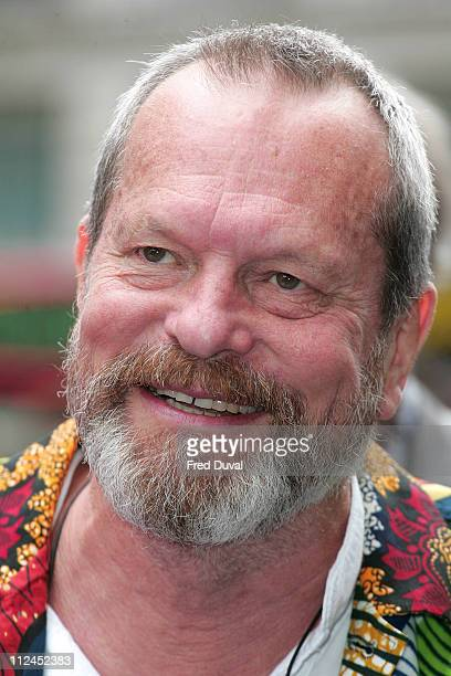 Terry Gilliam attends the UK Premiere of WALLE at Empire Cinema on July 13 2008 in London England