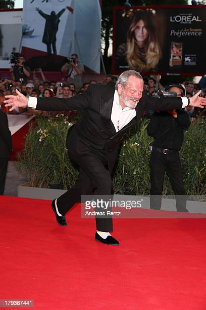 Terry Gilliam attends 'The Zero Theorem' Premiere during the 70th Venice International Film Festival at the Palazzo del Cinema on September 2 2013 in...