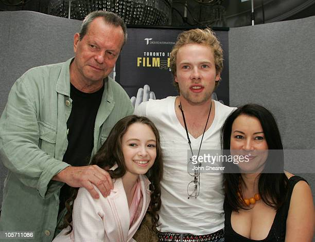 Terry Gilliam director Jodelle Ferland Brendan Fletcher and Jennifer Tilly