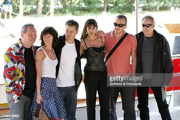 Terry Gilliam Guest Matt Damon Monica Bellucci and Heath Ledger