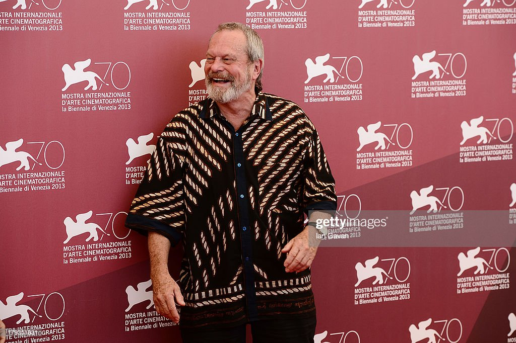 <a gi-track='captionPersonalityLinkClicked' href=/galleries/search?phrase=Terry+Gilliam&family=editorial&specificpeople=221636 ng-click='$event.stopPropagation()'>Terry Gilliam</a> wears a Jaeger-LeCoultre Master Memovox watch at the 'The Zero Theorem' photocall during the 70th Venice Film Festival at the Palazzo del Casino on September 2, 2013 in Venice, Italy.