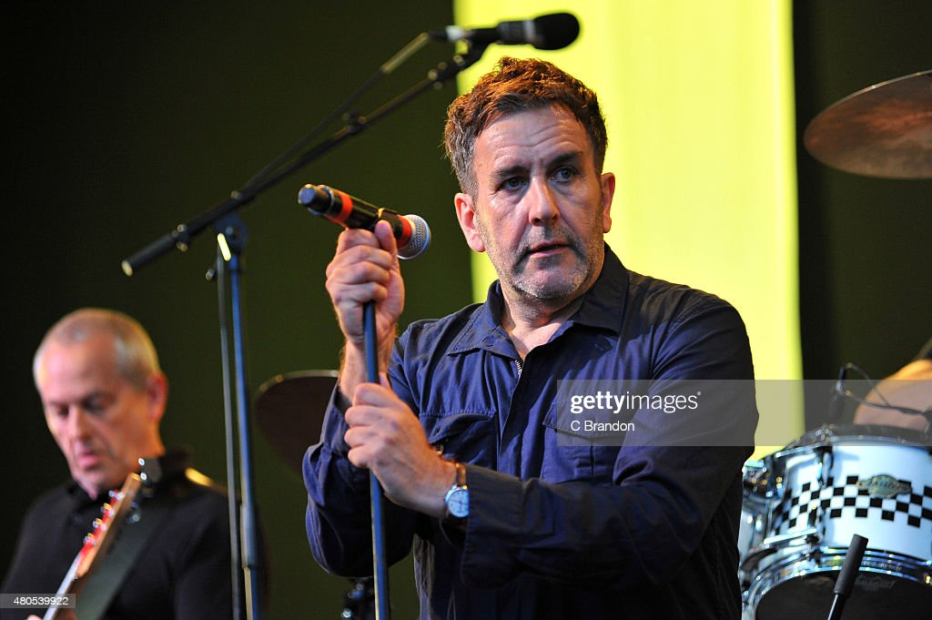 Terry Hall of The Specials performs on stage during Kew The Music at Kew Gardens on July 12, 2015 in London, England.