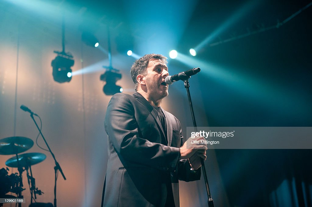 Terry Hall of The Specials performs onstage at Nottingham Capital FM Arena on October 21, 2011 in Nottingham, United Kingdom.