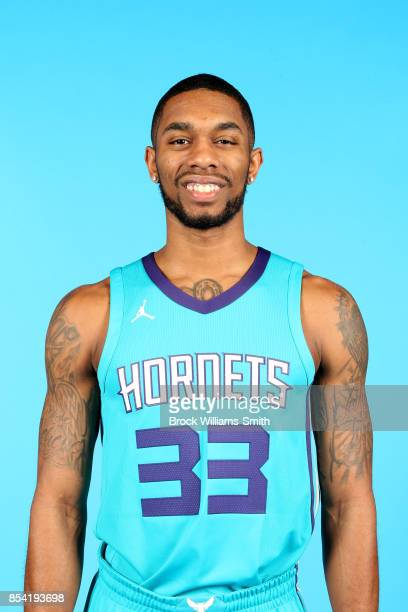 Terry Henderson of the Charlotte Hornets poses for a head shot during media day at Spectrum Center in Charlotte North Carolina NOTE TO USER User...