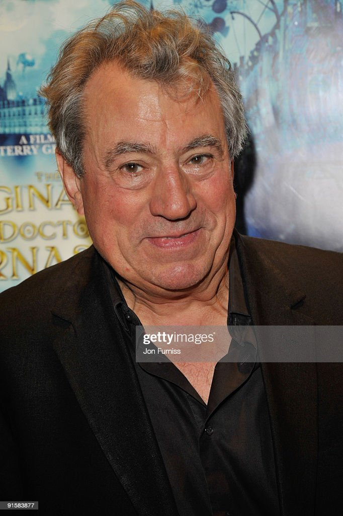 Terry Jones attends the UK Premiere of 'The Imaginarium Of Doctor Parnassus' at the Empire Leicester Square on October 6, 2009 in London, England.