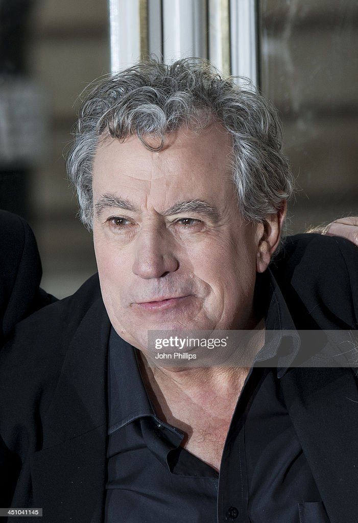 Terry Jones uring a photograph ahead of a press conference in central London on November 21, 2013 in London, England.