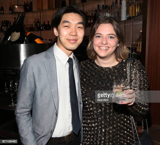 Terry Kitagawa and Lily Kamp attend the OffBroadway opening night party for 'SUMMER SHORTS 2017' at Fogo de Chao Churrascaria on August 7 2017 in New...