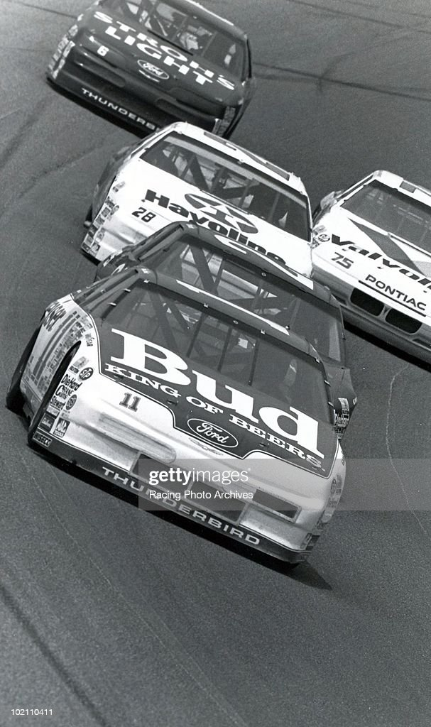 TALLADEGA AL Terry Labonte races by his fans during the DieHard 500 Labonte would win the race and take home $73920
