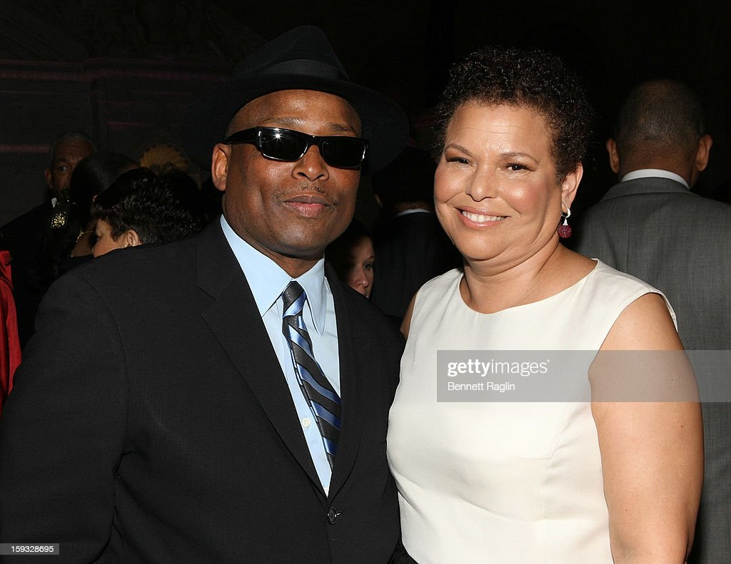 Terry Lewis and Debra Lee attend BET Honors 2013: Debra Lee Pre-Dinner at The Library of Congress on January 11, 2013 in Washington, DC.