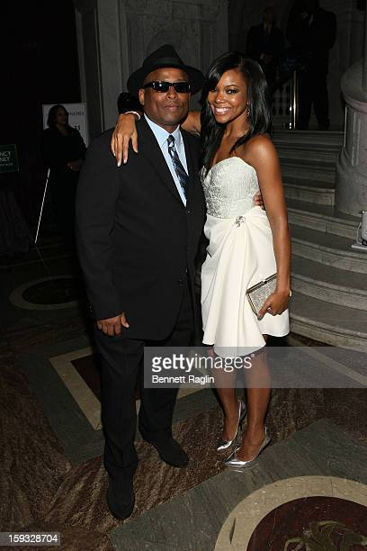 Terry Lewis and Gabrielle Union attend BET Honors 2013 Debra Lee PreDinner at The Library of Congress on January 11 2013 in Washington DC